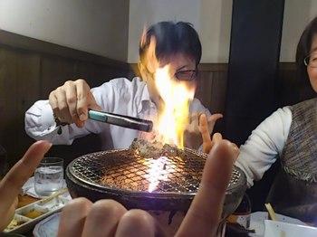 しょうちゃん燃える